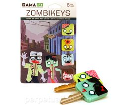 Cover your keys with the infection that will cover other keys! Mmmm zombie keys...
