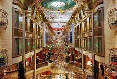 Royal Caribbean, Navigator of the Seas 138,279 GT, 1,020ft. Long, 161ft. Wide 1,557 Staterooms, Max. Cap. 3,807