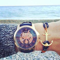 Je crois que j'ai craqué pour cette montre #Fossil et aussi ce bracelet…
