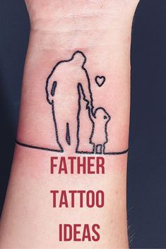Father tattoos ideas Any individual hoping to get skin icon art with feet , Daddys Little Girl Tattoo, Baby Tattoo For Dads, Daddy Daughter Tattoos, Daughters Name Tattoo, Daddy Tattoos, Father Tattoos, Tattoo For Son, Father Son Tattoo, Tatoos