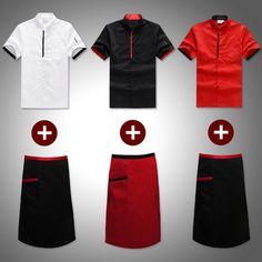 Twill Chef's Coat and Apron Apron, Costumes, Free Shipping, Coat, Stuff To Buy, Shopping, Fashion, Moda, Sewing Coat