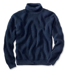 Just found this Rib Knit Turtleneck Sweater - Cotton Submariners Pullover Sweater -- Orvis on Orvis.com!