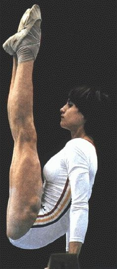 Nadia Comaneci - my very first favorite gymnast