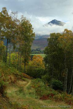 Kinloch Rannoch - looking towards Schiehallion - Scotland