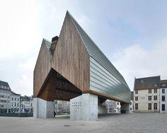 robbrecht en daem architecten + marie-josé van hee: market hall in ghent