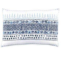 John Robshaw Textiles - Primrose Indigo - all pillows - Pillows & Inserts