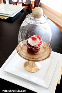 Make a DIY Cupcake Cloche