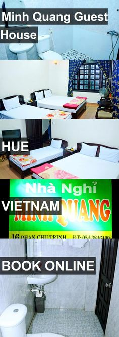 Minh Quang Guest House in Hue, Vietnam. For more information, photos, reviews and best prices please follow the link. #Vietnam #Hue #travel #vacation #guesthouse
