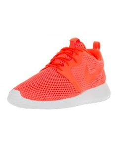 new style bee76 6f620 Classic Nike Roshe One Men s Casual Sneakers (Hyper Bright Total  Crimson White) Cheap Clearance. Sports Shoes