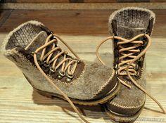 """Купить Валяные ботинки с кожей """"Старки - Хранители Севера"""" - мажорик, Валяные ботинки, винтерфелл"""