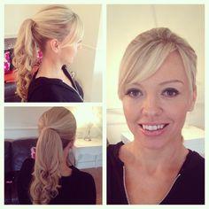 Our beautiful client this morning. #weddingguest #weddings #weddinghair #weddingmakeup #hairup #londonweddings #kentweddings #essexweddings #surreyweddings #hair #hairstylist #makeupartist