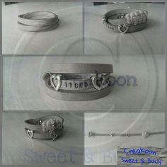 #leather #bracelet #creakoon #handmade #fashion