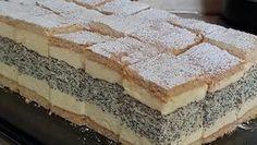 Ez a legporhanyósabb, legomlósabb linzer titka! Poppy Cake, Hungarian Recipes, Recipe Collection, Truffles, Parfait, Macarons, Tiramisu, Creme, Food Photography