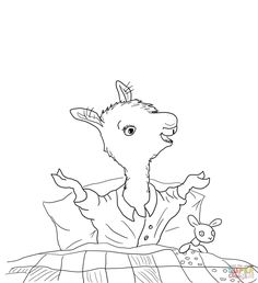 pigs in pajamas coloring pages   Lily pad pattern. Use the printable outline for crafts ...