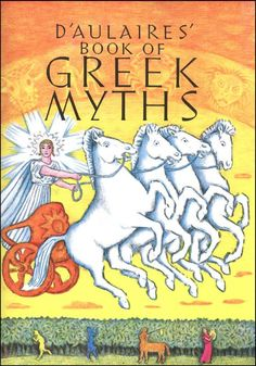 DAulaires Book of Greek Myths - borrowed from Library.  Using this along with the Astronomy books as part of our Ancient Greece unit