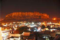 Jodhpur at Night #wanderlust