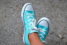 Aqua Converse