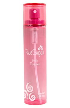 Pink Sugar- Hair Perfume  The best $15.00 ever spent.