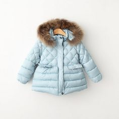 31.50$  Buy here - http://ai2vo.worlditems.win/all/product.php?id=32461162661 - YRB50822898 Retail New 2015 Winter Fashion Baby Girl Jacket Parkas Solid Hooded Fur Girl Outerwear Girl Coat Worm Girl Clothes