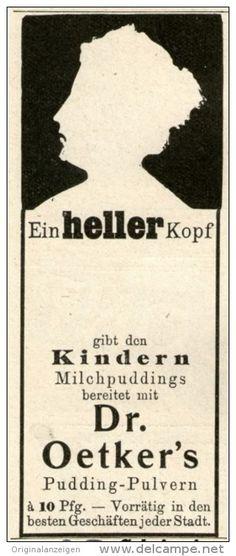 Original-Werbung/Inserat/ Anzeige 1905 - DR.OETKER'S MILCHPUDDINGS   - ca. 45 X 110 mm