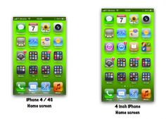 Sem Jobs, Apple pode mudar tamanho da tela do iPhone para 4 polegadas