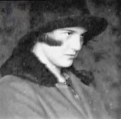 Eva Braun at the age of 15, or thereabouts. This is taken from her photo albums.