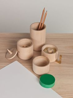 Wooden desk organizers. Awesome but ridiculous price: $117.50