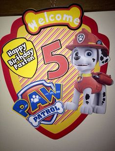 SALE Paw Patrol Complete Party Pack SALE by AddyBugs on Etsy