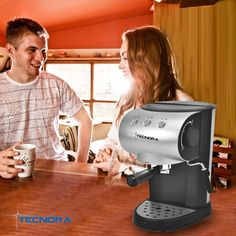 A good friend will support you, fight for you, motivate you and make great coffee for you. Need some help with that...? Bring home the Tecnora Classico Espresso Coffee Machine: http://bit.ly/1xCnvj8