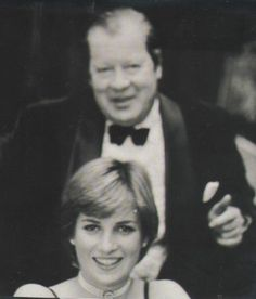 Diana with her father, Earl Spencer.
