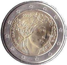"Moneta Commemorativa ""500° anniv. morte Sandro Botticelli"" Anno: 2010 Stato: San Marino"