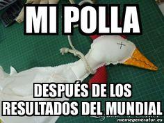 Mi polla después de los resultados del MUNDIAL Brasil 2014 - Vivo del Futbol