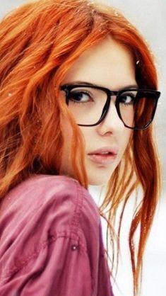 Cute Orange Hair Beauty Cute Girl Art #iPhone #5s #wallpaper