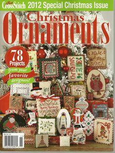 Gallery.ru / Фото #1 - Just Cross Stitch Christmas Ornaments 2012 - tymannost