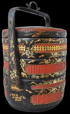 Straits Chinese Wedding Basket