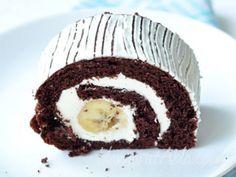 Banana Roll Cake Making Banana Roll Cake Making Banana Roll, Recipe Mix, Turkish Recipes, Soup And Salad, How To Make Cake, Chocolate Cake, Cake Decorating, Cheesecake, Deserts