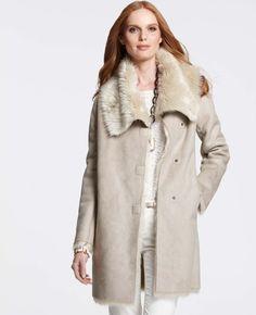 Faux Shearling Coats