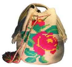 Rose Wayuu Bag