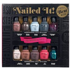 SEPHORA by OPI Nailed It! Top 10 Best Sellers: Shop Nail Polish   Sephora