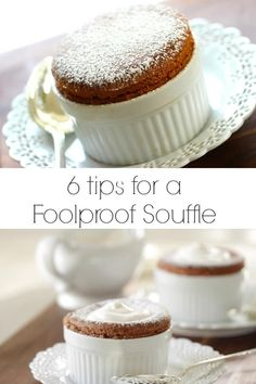 Skip the crowded and over-prices restaurants on Valentine's Day and tackle a chocolate souffle at home! The best part about this easy chocolate souffle is that most of it can be made ahead time! Great Desserts, Köstliche Desserts, Delicious Desserts, Dessert Healthy, Fancy Chocolate Desserts, Chocolate Decorations, Chocolate Cookies, Plated Desserts, Tolle Desserts