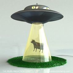 Alien abduction lamp  :D