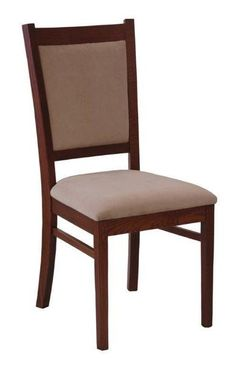 Amish Irvine Dining Chair Maximum comfort is yours with a set of Irvine Dining Chairs! Padded seat and back offer comfort and support as you enjoy dinner. Go with leather or fabric, whichever suits your dining room best!