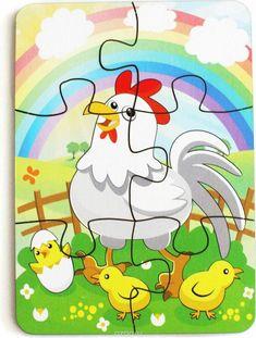 Etkinlik Puzzles Für Kinder, Preschool Puzzles, Puzzles For Toddlers, Math For Kids, Preschool Worksheets, Preschool Learning Activities, Educational Activities, Preschool Activities, Activities For Kids