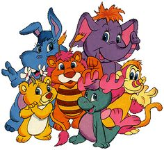 The Wuzzles.  Loved this cartoon & the dolls...