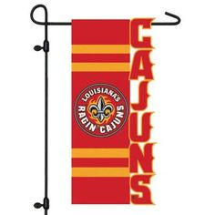 Team Sports America Collegiate Sculpted Garden Flag - 16S913