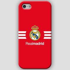 Fundas para iPhone 4-4s-5-5s, con diseños del Real Madrid CF. Materiales policarbonato semiflexible y  color rojo y rayas blancas Puedes ver más detalles y Comprar con envió gratis en: http://www.upaje.com/shop/fundas-moviles/real-madrid-cf-iphone-5-5s/ #fundas #carcasas #iphone4 #iphone4s #iphone5 #iphone5s #realmadrid #rojo