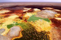 Ethiopia's Danakil Desert photo by Cameron Davidson