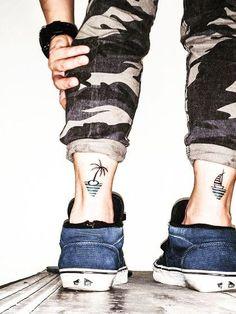 40 hình xăm ở chân siêu VIP cho nam giới - Tattoo leg for man