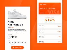 Shop App Page Design