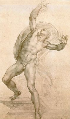 Michelangelo Buonarroti The Risen Christ ca. 1532 The Royal Collection